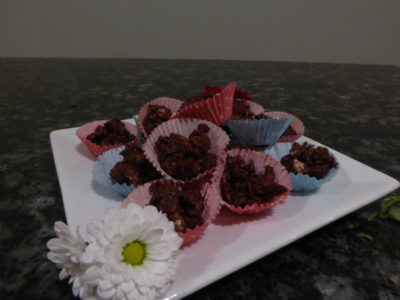 Chocolate Fruit & Nut Clusters 2