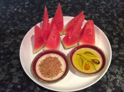 water melon and dukkar