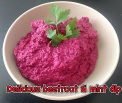 Beetroot & Mint Dip