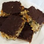 Banana & Chocolate Flapjack