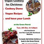 Vegan Cookery Event