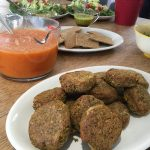 Vegan Burgers - Walnut and Flaxseed with Tomato Sauce