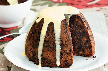 Gluten Free, Dairy Free Vega Christmas Pudding